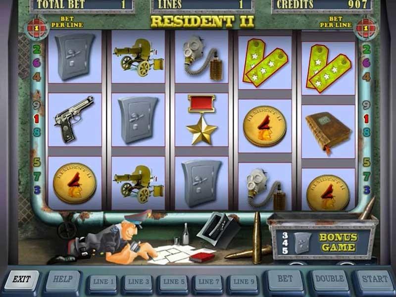 Игровые автоматы резидент бесплатная программа веселая ферма 3 русская рулетка код на деньги